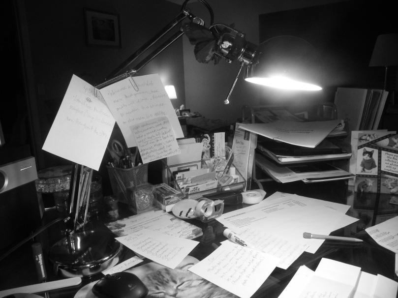 My writing desk.