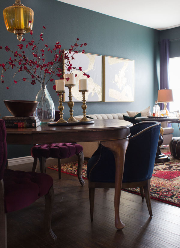 My living/dining room as gone through a lot of changes recently. | Tiyana Marie White