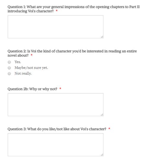 Beta Read Questions 1