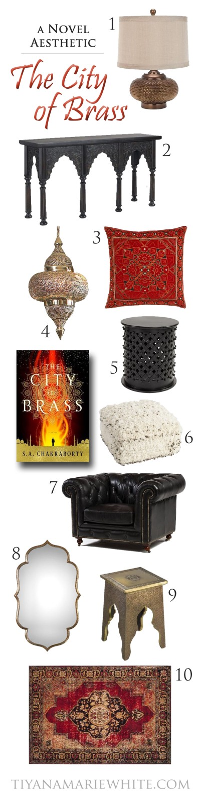 A Novel Aesthetic: The City of Brass | The Chandra Tribune